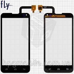 Сенсорный экран для Fly IQ4415 Era Style 3, черный, оригинал