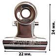 Затискач металевий для арки - 22 мм (36 шт. в упаковці), фото 4
