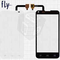 Touchscreen (сенсорный экран) для Fly IQ4415, белый, оригинал