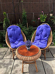 Комплект мебели из лозы(цена указана без накидок).