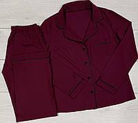 Фиолетовая пижама Рубашка - штаны Домашняя одежда ТМ Exclusive