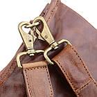 Сумка мужская Vintage 14391 Коричневая, фото 5