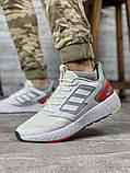Кроссовки мужские 20002, Adidas Run90s neo, белые [ 42 43 44 45 ] р.(42-26,5см), фото 2