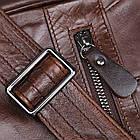 Сумка мужская Vintage 14425 Коричневая, фото 4