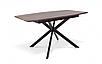 Стол обеденный -Ричард 1400(+400)*850 (черный /орех), фото 2