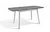 Стол обеденный -Соло 1100(+350)*700 (белый/серый), фото 3