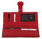 Кошелек женский KARYA 17149 кожаный Красный, фото 5