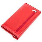 Кошелек женский KARYA 17188 кожаный Красный, фото 2