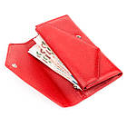 Кошелек женский KARYA 17188 кожаный Красный, фото 4