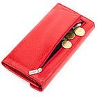 Кошелек женский KARYA 17188 кожаный Красный, фото 5
