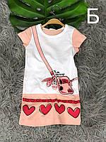 Платье летнее для девочки 2-5 лет