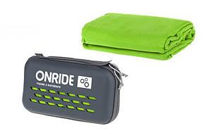 Полотенце из микрофибры ONRIDE Wipe 20 120x60 см в кейсе зеленый