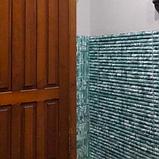 3Д панель самоклеющаяся, 3D панели декоративные для стен 8,5 мм, Бамбук Серый, фото 2
