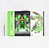 """Робот трансформер """"Deformation Synthesis Robot"""" с оружием 25 см (зеленый) MB, фото 5"""