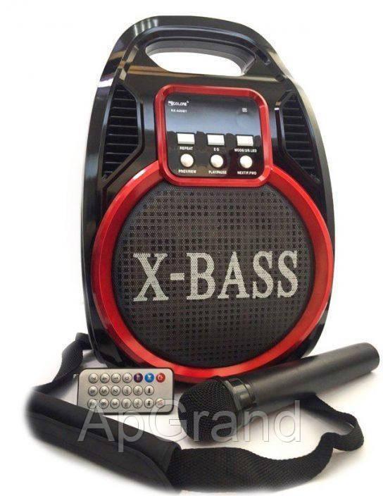 Бездротова колонка Bluetooth Golon RX-820BT, портативна колонка з мікрофонним виходом, USB, карта пам'яті