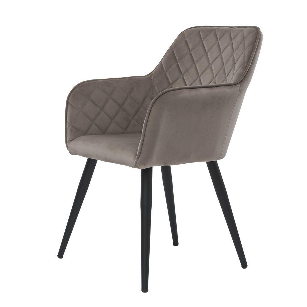 Antiba крісло пудровий сірий
