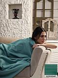 """Флисовый Плед покрывало """"Полар"""" двуспальный 185×215 см Бежевого цвета бренд KAYRA Турция, фото 5"""