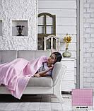 """Флисовый Плед покрывало """"Полар"""" двуспальный 185×215 см Бежевого цвета бренд KAYRA Турция, фото 9"""