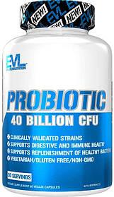 EVLution Nutrition Ультра чисті пробіотики Ultra Pure Probiotic 40 Billion CFU (60 Caps)