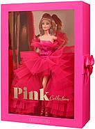 Колекційна лялька Барбі Рожева колекція Barbie Signature Silkstone Pink Collection Pink Premiere GTJ76, фото 3