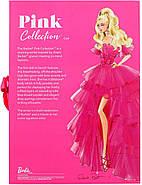 Колекційна лялька Барбі Рожева колекція Barbie Signature Silkstone Pink Collection Pink Premiere GTJ76, фото 4