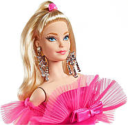 Колекційна лялька Барбі Рожева колекція Barbie Signature Silkstone Pink Collection Pink Premiere GTJ76, фото 6