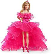 Коллекционная кукла Барби Розовая коллекция Barbie Signature Silkstone Pink Collection Pink Premiere GTJ76, фото 7