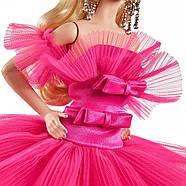 Колекційна лялька Барбі Рожева колекція Barbie Signature Silkstone Pink Collection Pink Premiere GTJ76, фото 8