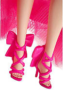 Колекційна лялька Барбі Рожева колекція Barbie Signature Silkstone Pink Collection Pink Premiere GTJ76, фото 10