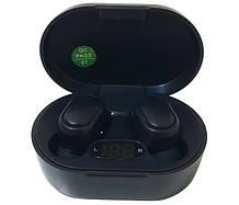 Наушники беспроводные Redmi AirDotsPro AIR 7730 LCD в кейсе, черные