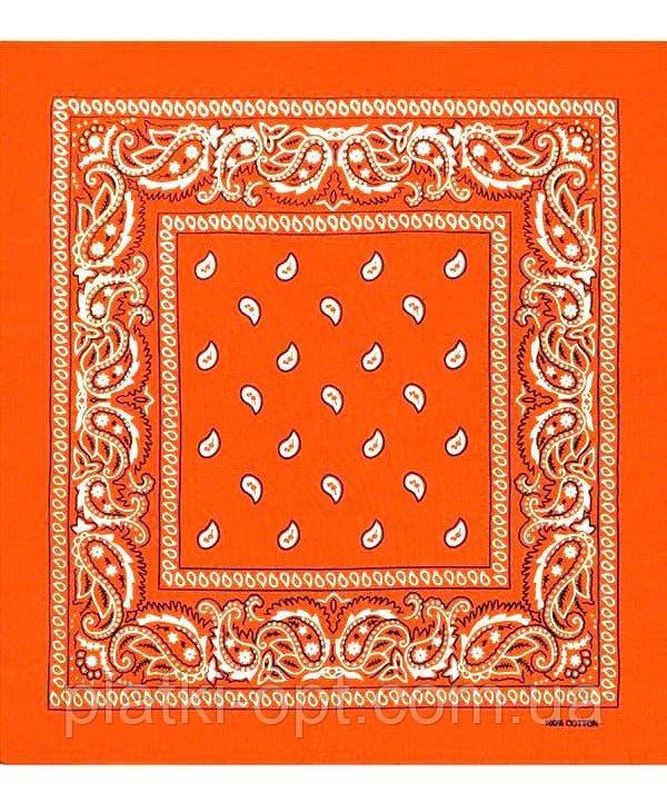 Бандана класика (помаранчева)