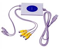 USB видеорегистратор для беспроводного видеонаблюдения: 4х-канальный, тревожные сообщения по E-mail