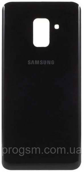 Задня частина корпусу samsung galaxy a8 plus a730 black