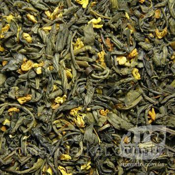 Зелений класичний чай Зелений з османтусом 50g