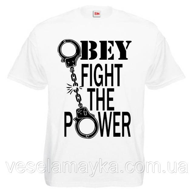 "Футболка ""Obey fight the power"""
