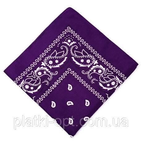 Бандана класика (фиолетовая)