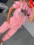 Жіночий річний трикотажний костюм (Туреччина);Розміри:з,м, фото 2