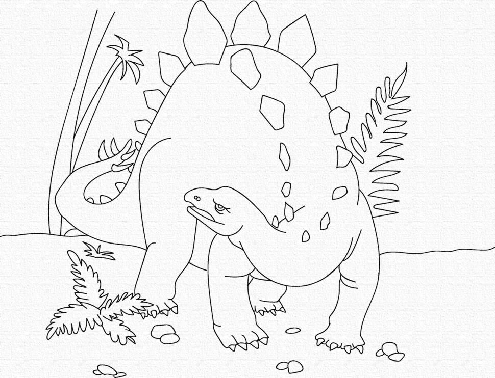 """Розпис на полотні. Art Craft """"Динозавр"""" 25х30 см 15521-AC"""