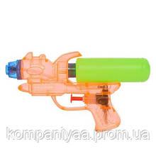Детский водяной пистолет M 5932 17см (Оранжевый)