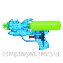 Детский водяной пистолет M 5932 17см (Синий)