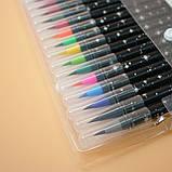 Набор акварельных маркеров с кисточкой 20 цветов Детский набор для рисования маркеры для скетчинга, фото 3