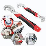 Универсальный гаечный разводной ключ Snap-N-Grip 2 шт, фото 3