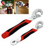 Универсальный гаечный разводной ключ Snap-N-Grip 2 шт, фото 5