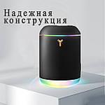 Увлажнитель воздуха Wi-Y USB увлажнитель диффузор с подсветкой 1000 мл. Черный, фото 3