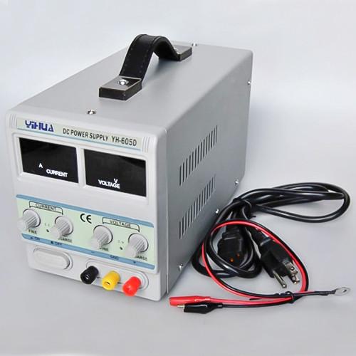 YIHUA 605D, 60B 5A лабораторный блок питания, трансформаторный