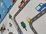 Безкоштовна доставка! Дитячий складаний термоковрик (Дороги/Городок) на 180 200 см, товщина 1 см, фото 4