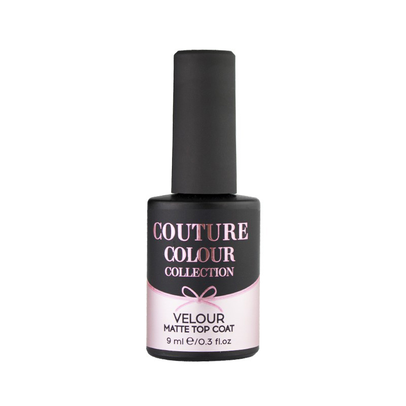 Топ бархатный для гель-лака Couture Colour Velour Matte Top Coat, 9 мл