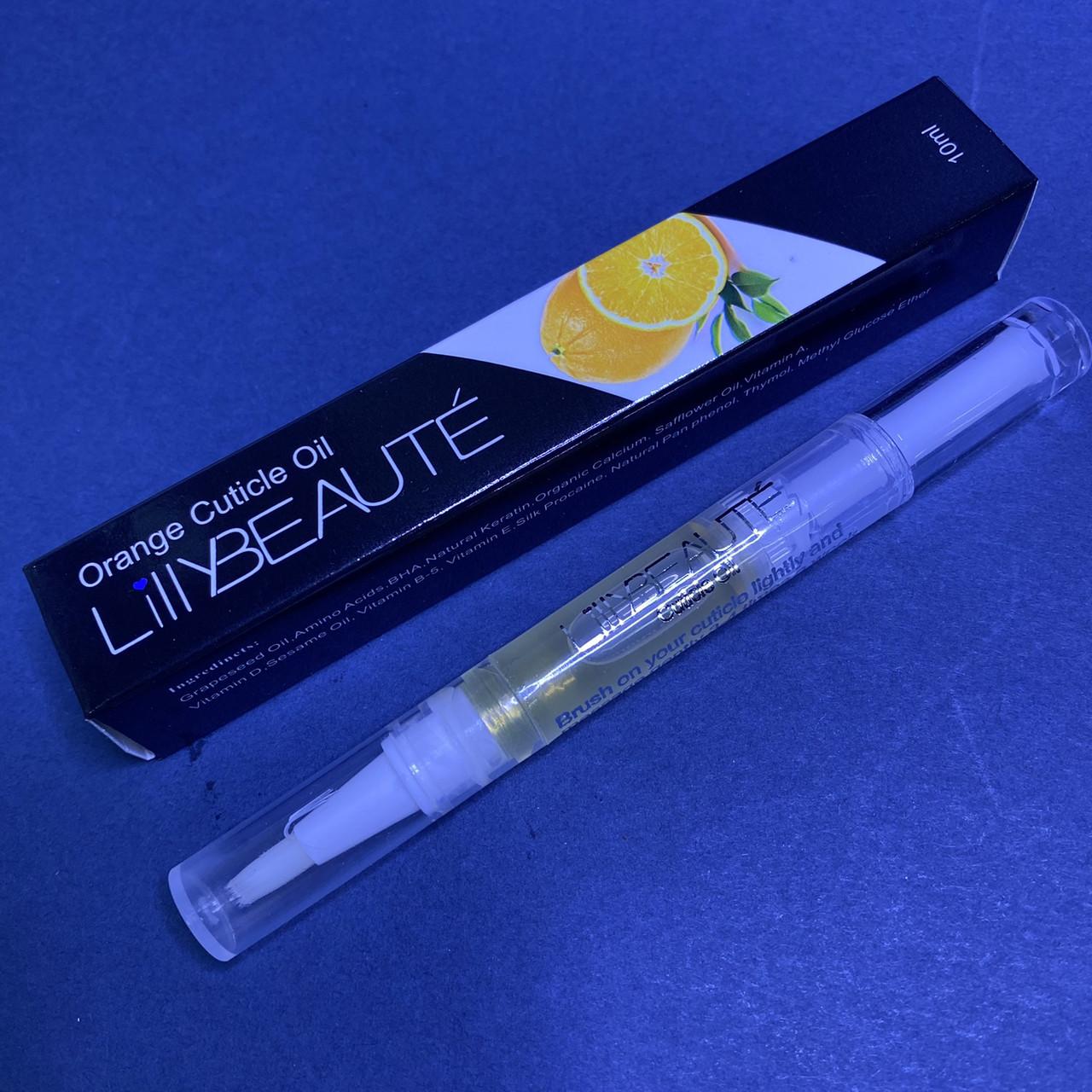 Масло для кутикулы в карандаше Lilly Beaute 10мл  Апельсин
