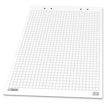 Блокнот 58x83 cm для фліпчарту/клітинка/10арк./70гр/м2
