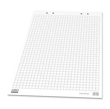 Блокнот 58х83 см для фліпчарту/клітинка/30арк./А1